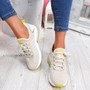 Koddy Beige Lace Up Sneakers