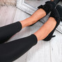 Bokka Black Stilleto Bow Pumps