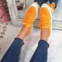 Leppe Orange Running Sneakers