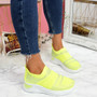 Enna Fluorescence Studded Trainers