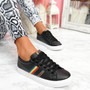 Shea Black Rainbow Trainers