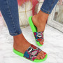 Jusso Green Snake Sandals