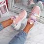 Kaya Pink Chunky Sneakers