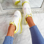 Emya Yellow Chunky Trainers