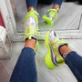 Lany Yellow Chunky Trainers