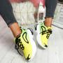 Kippo Yellow Chunky Trainers