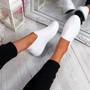 Lonnia White Slip On Sneakers