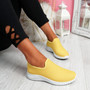 Lonnia Yellow Slip On Sneakers
