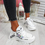 Keve White Chunky Trainers