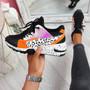 Obyo Black Chunky Sneakers