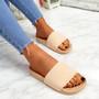 Eka Pink Flat Sandals