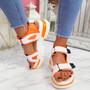 Juppo Orange Chunky Sandals