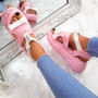 Salla Pink Chunky Sandals