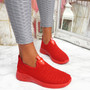 Monne Red Sport Trainers