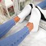 Neya White Slip On Trainers