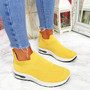 Neya Yellow Slip On Trainers