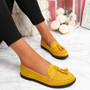 Latta Yellow Flat Ballerinas