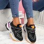 Robby Black Chunky Trainers