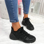 Koga Black Chunky Sneakers