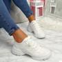Koga White Chunky Sneakers