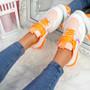 Geppo Orange Chunky Trainers