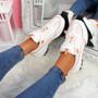 Zennya White Chunky Sneakers