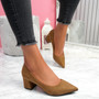 Offie Camel Court Pumps