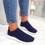 Fubba Navy Mesh Trainers