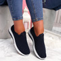 Nugga Navy Slip On Trainers