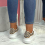 Mika Leopard Studded Trainers