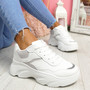 Kidde White Chunky Trainers