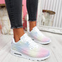 Paddo White Rainbow Trainers