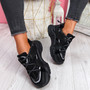 Vedya Black Chunky Trainers