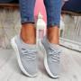 Mizze Grey Knit Sneakers