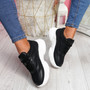 Malle Black Sport Chunky Trainers