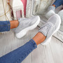 Malle Grey Sport Chunky Trainers