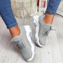 Limma Grey Chunky Trainers