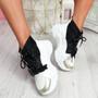 Kogga White Sock Chunky Sneakers