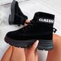 Adya Black Ankle Boots