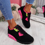 Monka Black Rose Trainers
