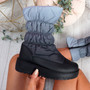 Ibby Grey Winter Mid Calf Boots