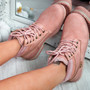 Kepy Pink Ankle Boots
