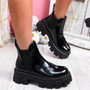 Nitty Black Chelsea Ankle Boots