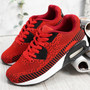 Larry Red Sport Kids Trainers Sneakers