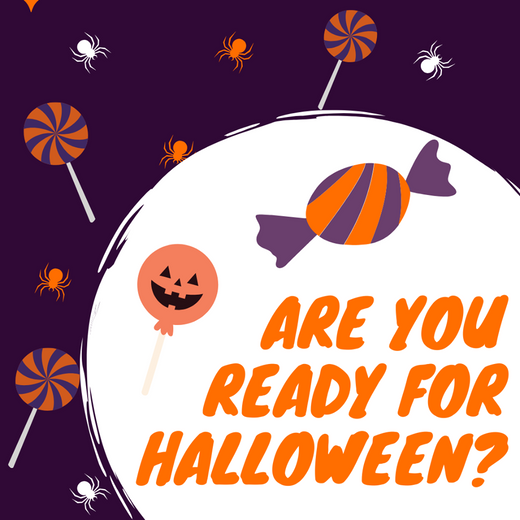 It's time  for Halloween!