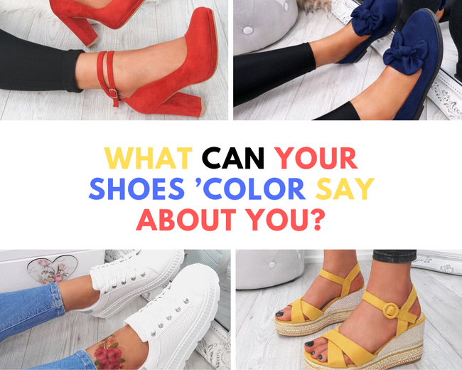 What can your shoes 'color say about you?
