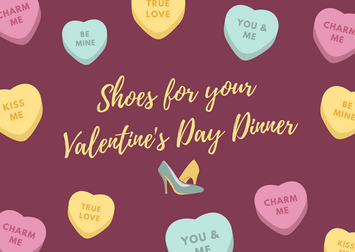 What shoes should you wear on Valentine's Day dinner