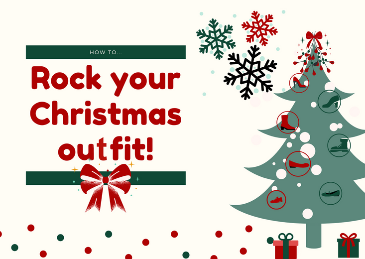 How to rock your Christmas outfit!