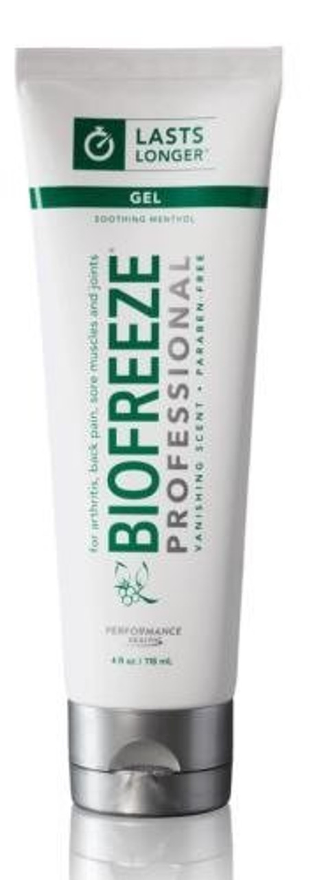 BIOFREEZE® Professional Pain Reliever 4 Oz Tube