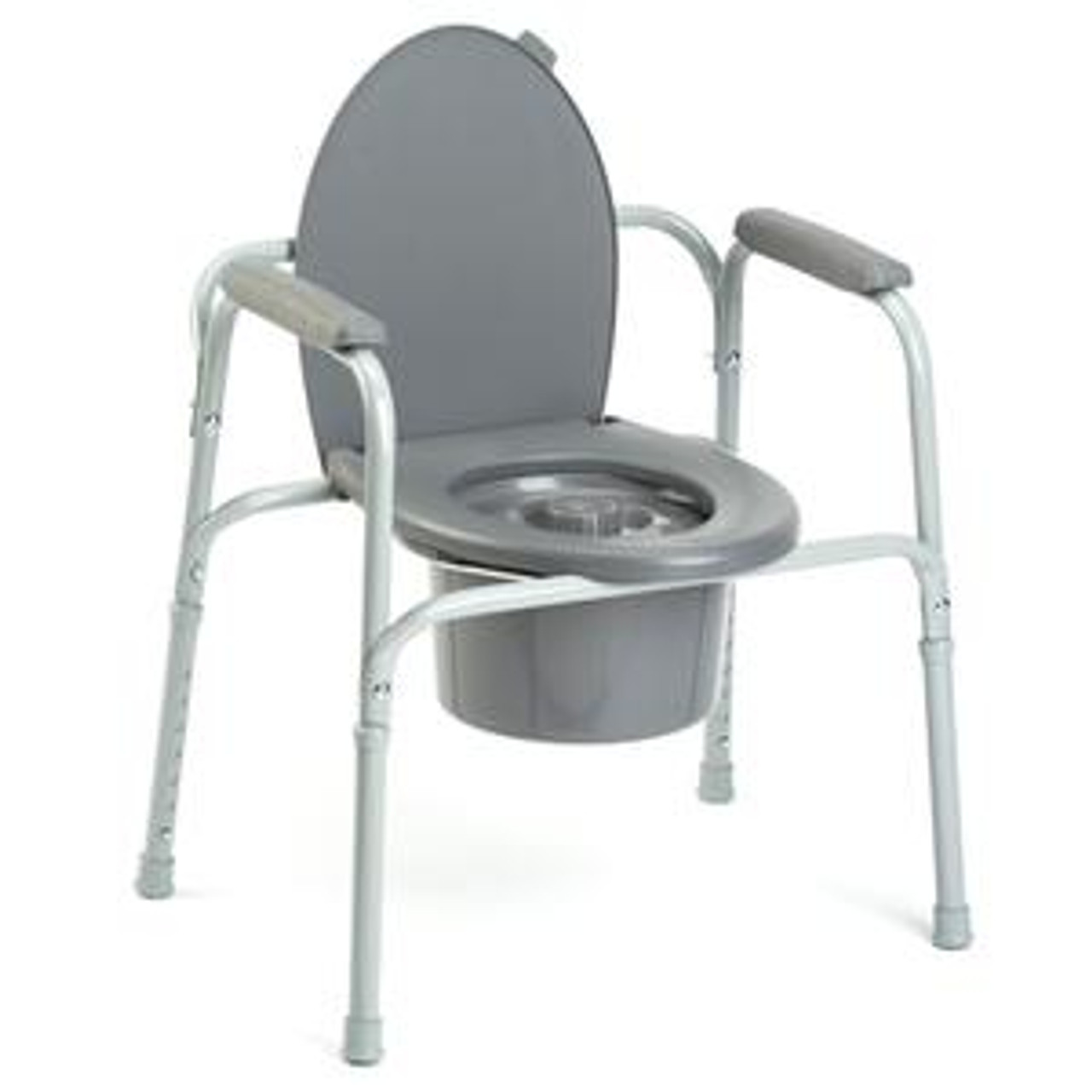 Commode 3 In 1 Aluminum